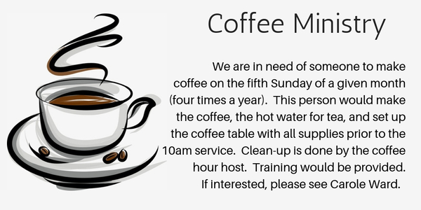 Coffee Ministry